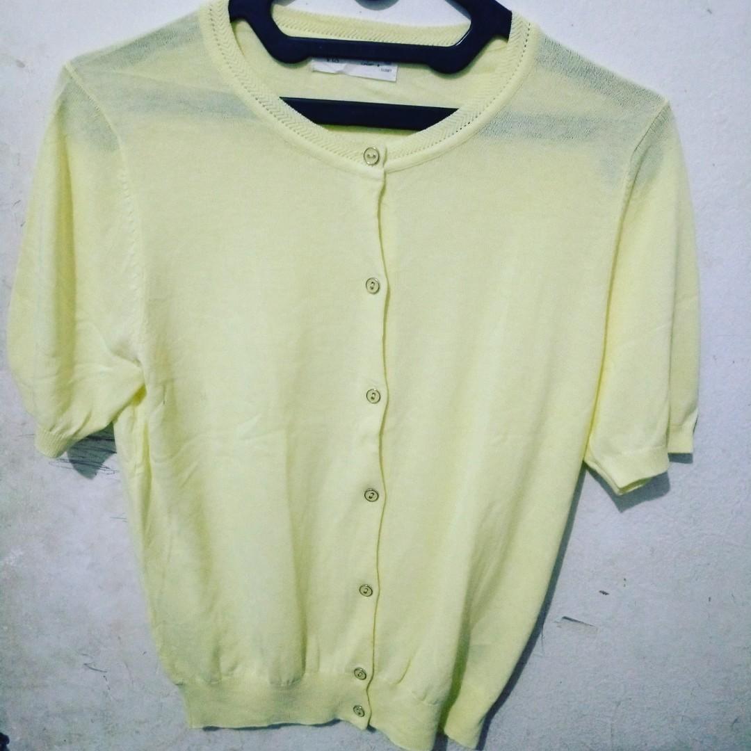 Semi rajut yellow