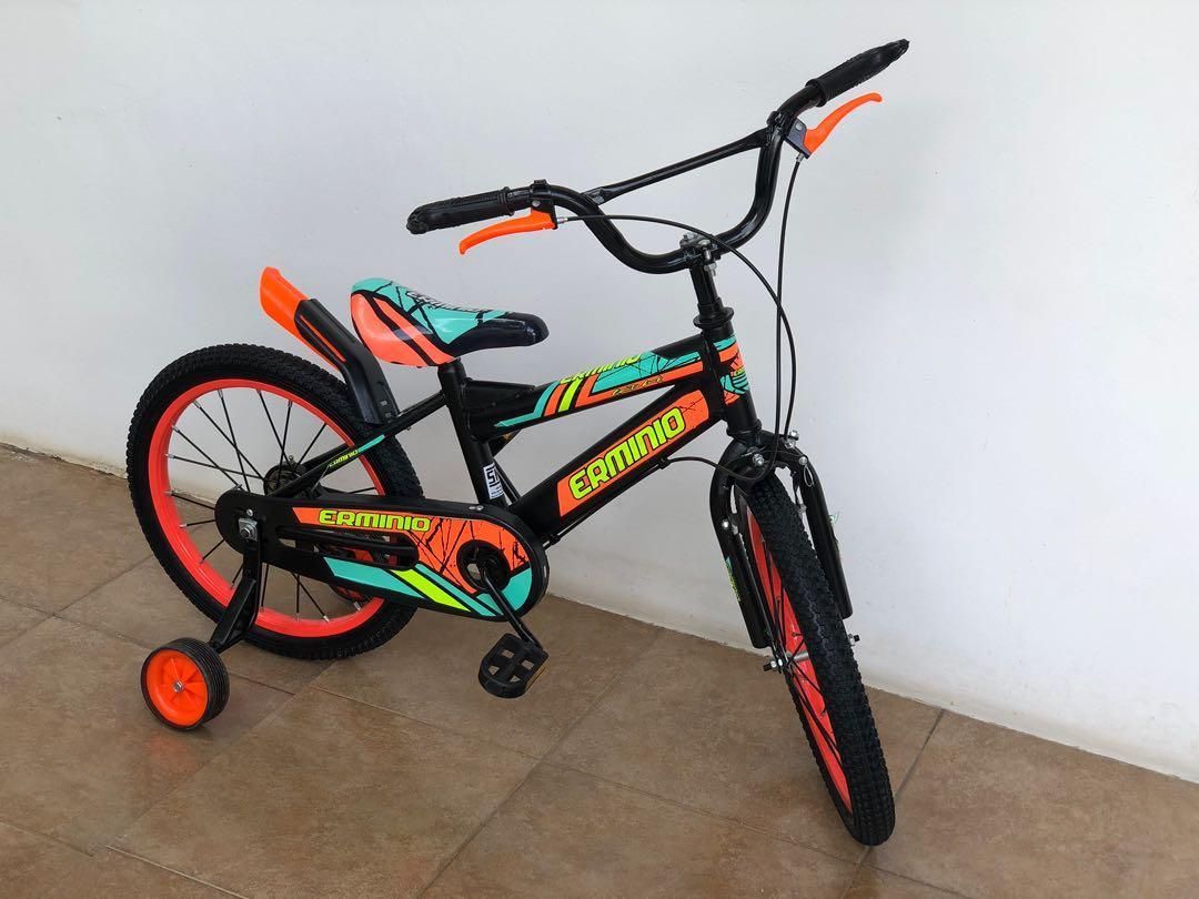 Sepeda Anak Erminio 18inc (baru 1 bulan pemakaian)