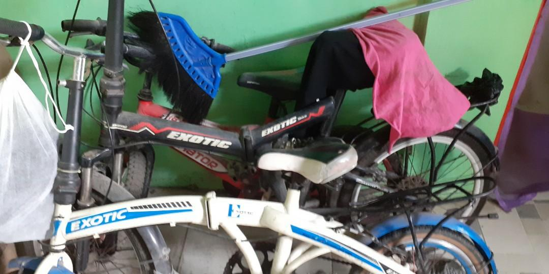 Sepeda lipat merek exotic