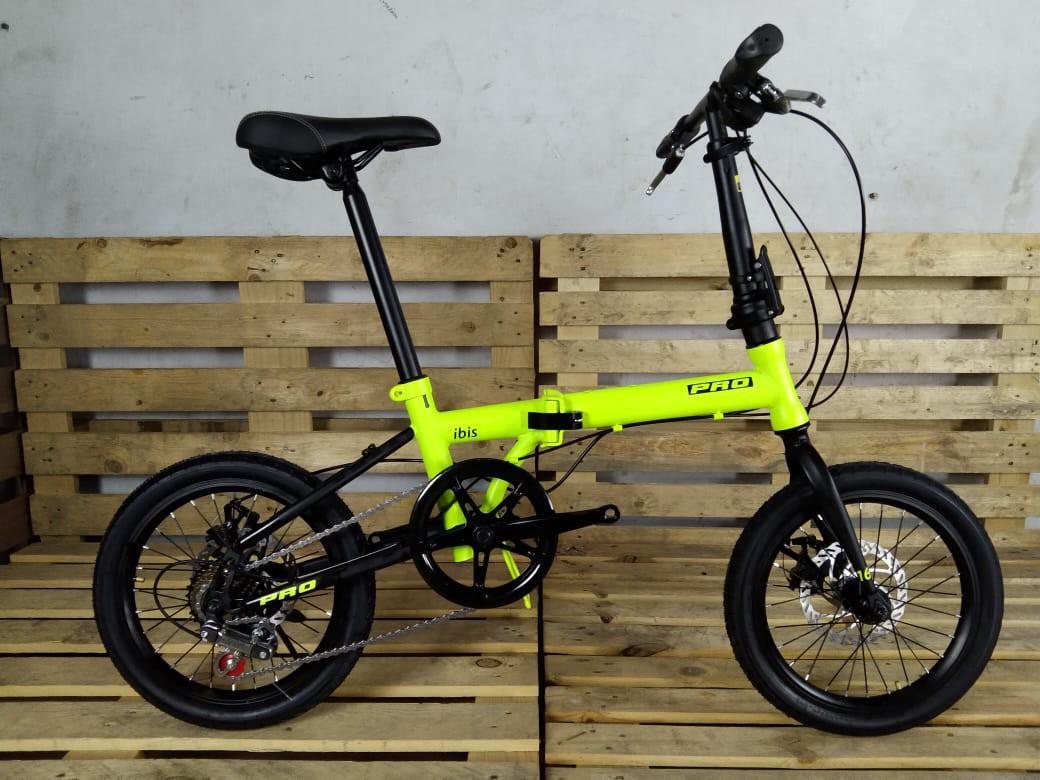 Sepeda Lipat Pro Action Ibis 7 speed Bisa cash/kredit DP Free Admin