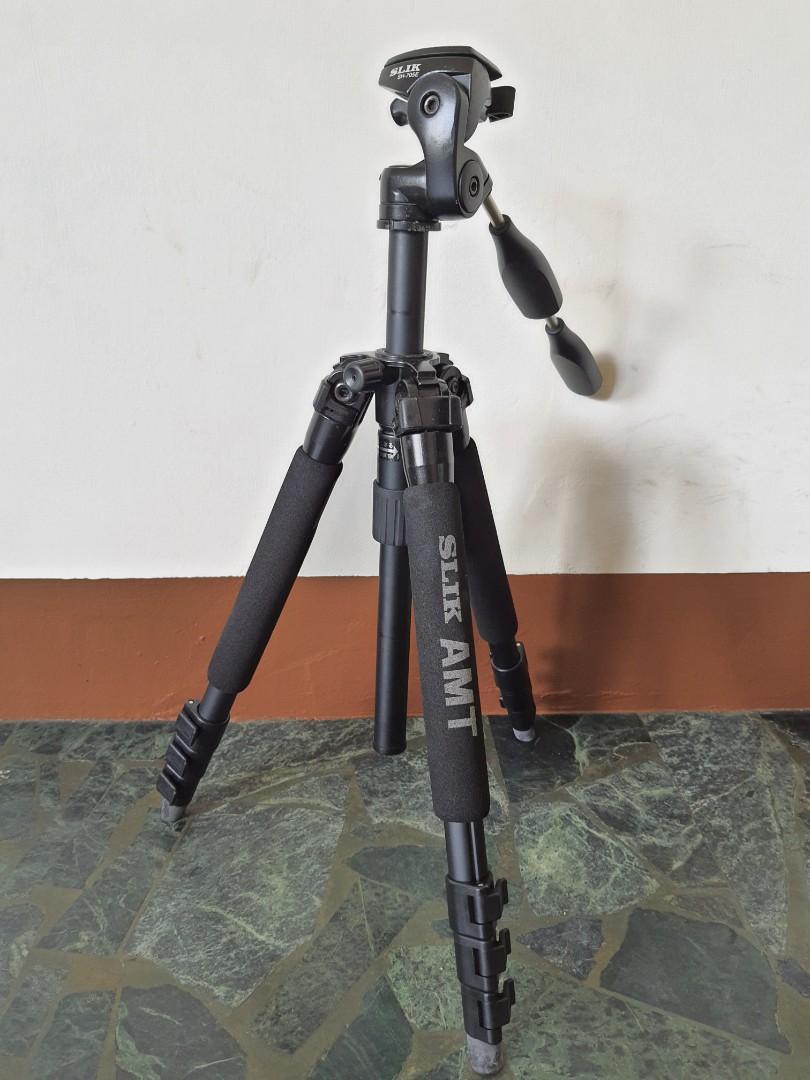 專業級slik pro 340 Dx 鋁合金三角架 sh-705e 雲台 相機腳架 二手出清