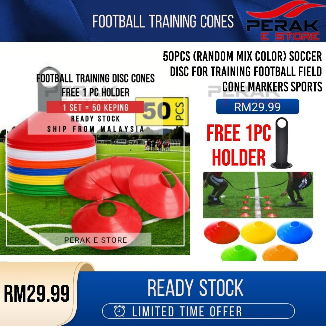 Soccer Disc for Training Football Field Cone Markers Sports at 25% off! RM29.99 only.