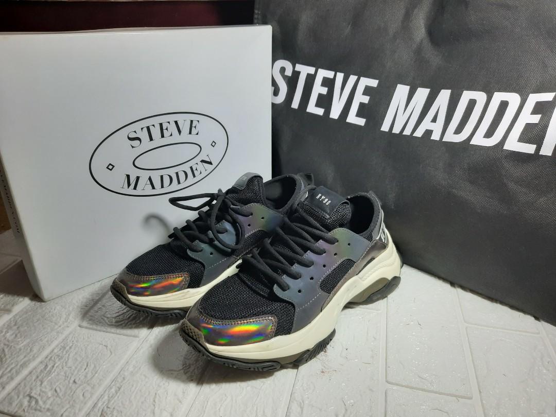 Steve medden shoes metalic ori