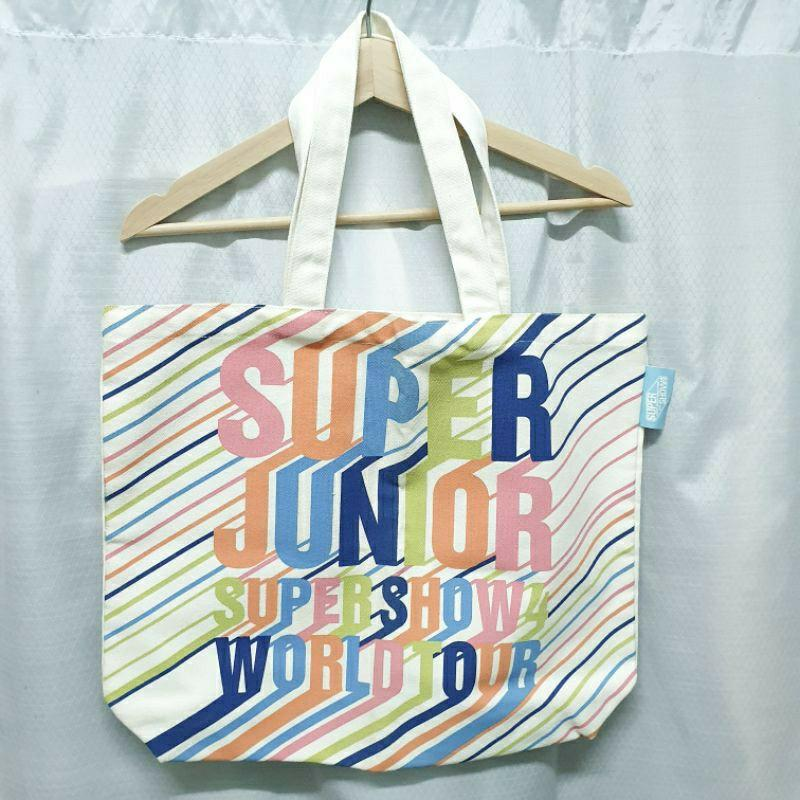 SUJU Super Junior\Super Shoe 4\SS4 周邊 帆布包 帆布袋