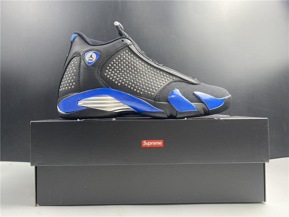 Supreme X Nike Air Jordan 14 Retro S shoes BV7630-004 Men Size US7-13 EU40-47