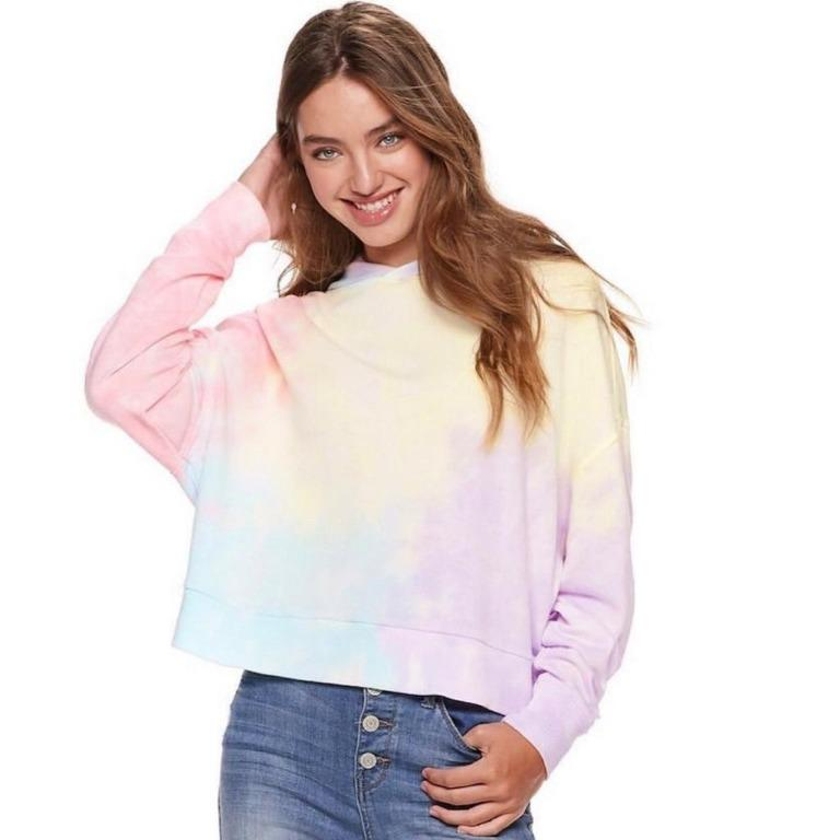 sweatshirt rainbow by s. oliver