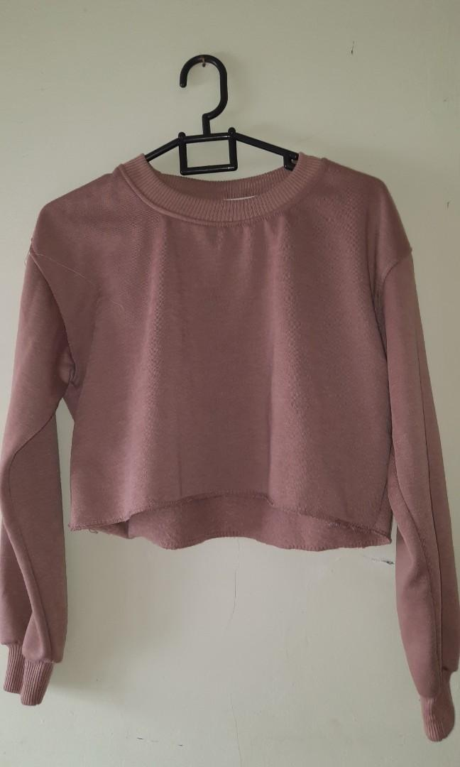 Sweeter Crop Top Mocca Polos