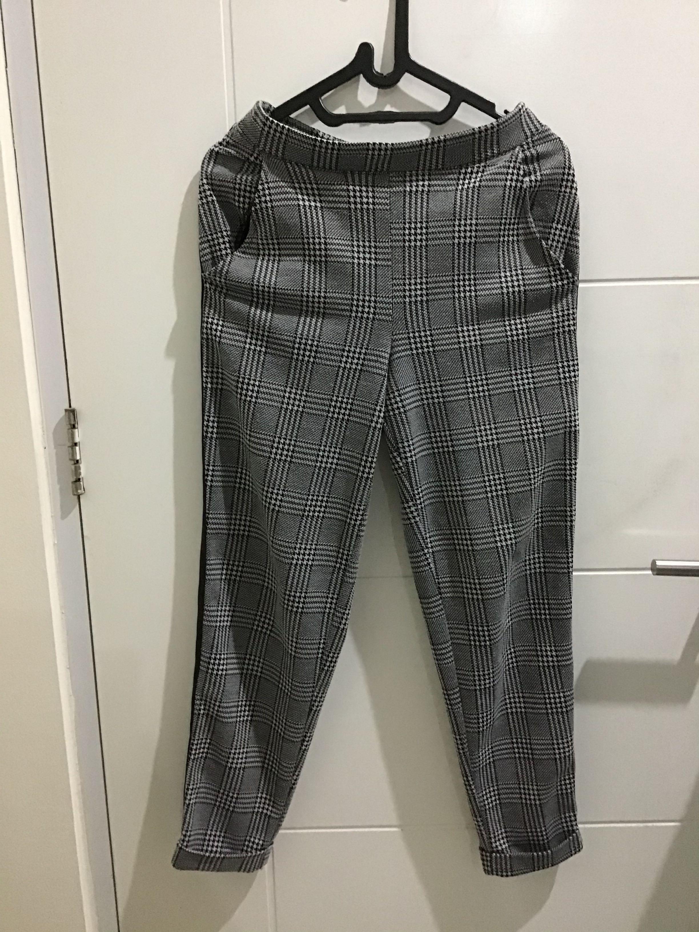 Tartan pants H&M