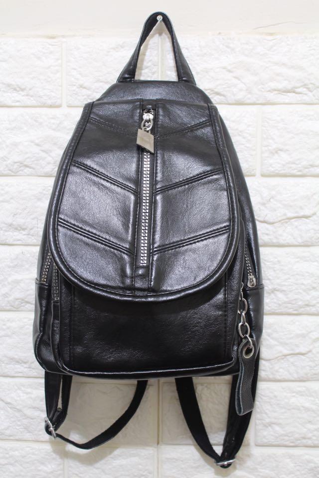 Tas Back Pack Black
