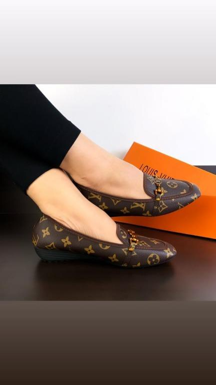 Tas LV Valkyrie Monogram Leather Loafers SS20 #A39-96