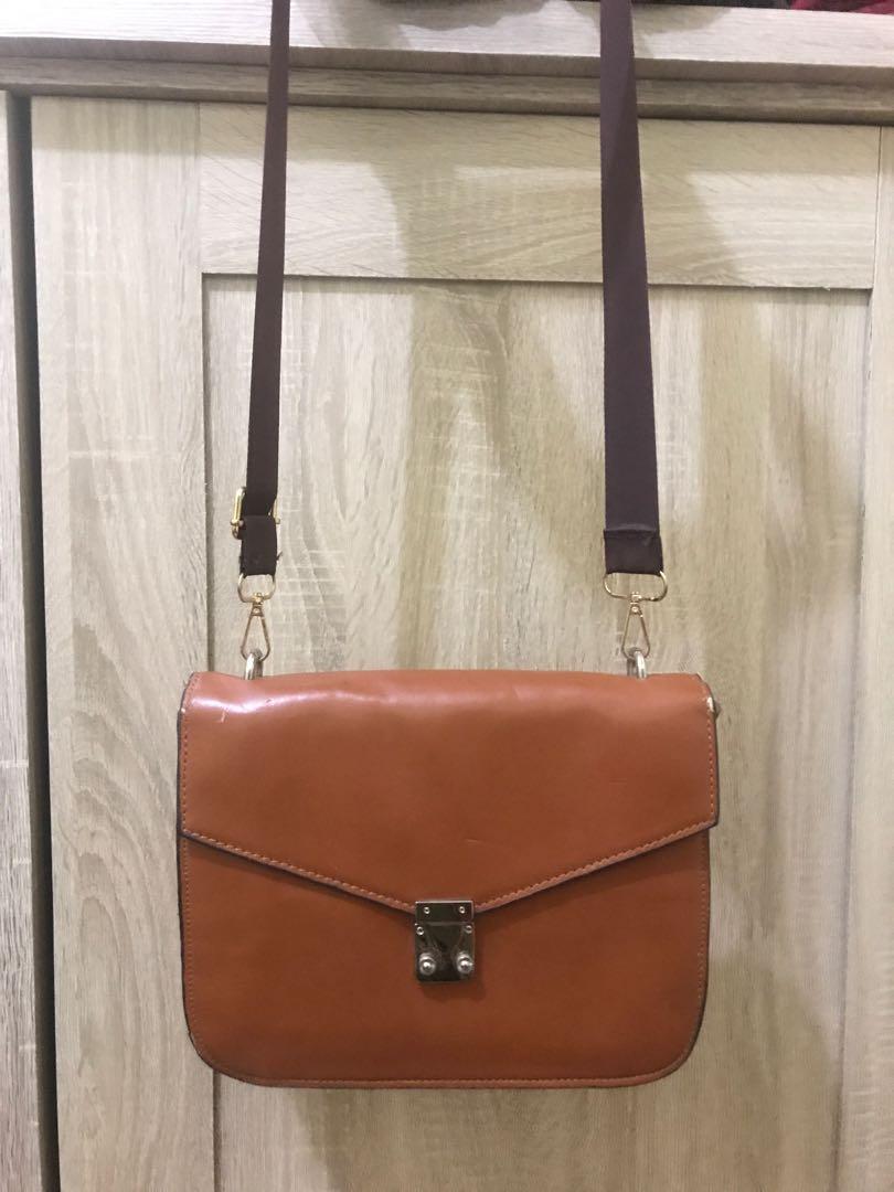 [NEGO] Tas sling bag kulit tyga