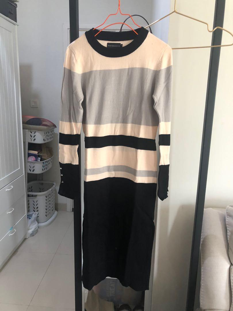 The executive knit dress