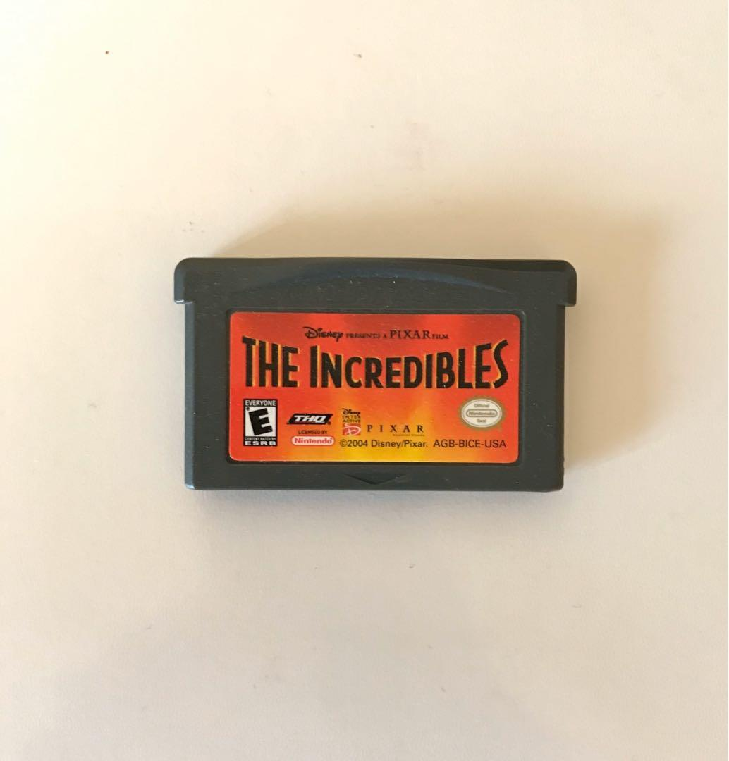 The Incredibles Gameboy Advance