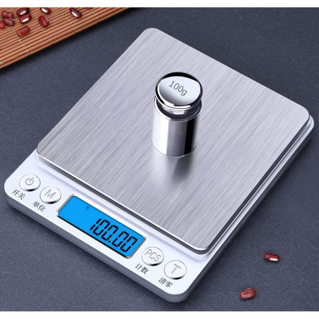 Timbangan Dapur Elektronik Digital Mini Kitchen Scale 3kg/0.01oz-yoyosoo