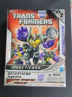 Transformers 25th anniversary universe insecticons misb
