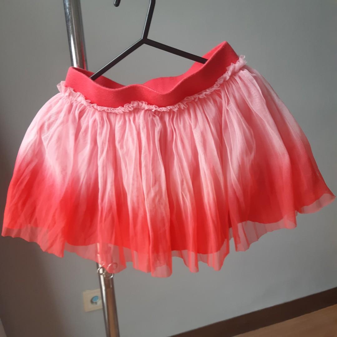 Tutu Skirt 4 - 5thn / rok tutu pink