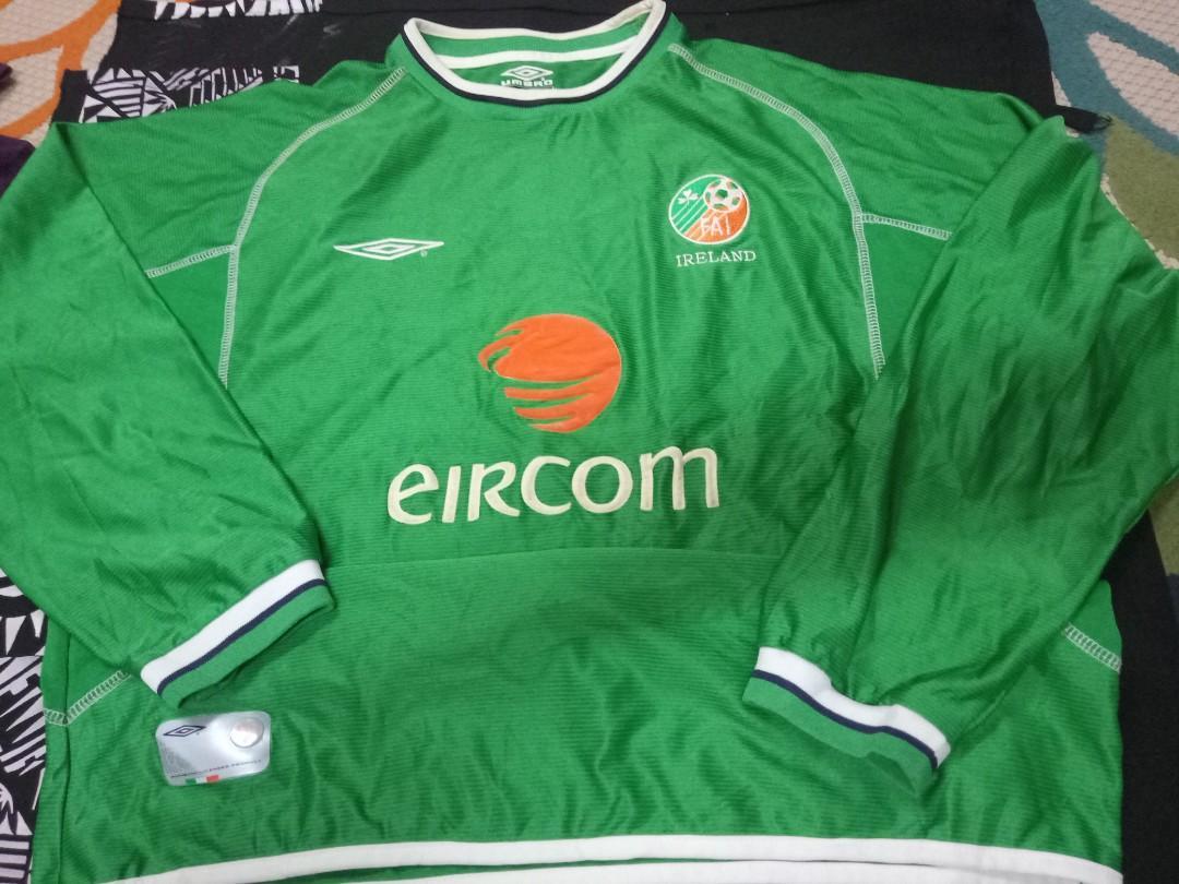 Umbro ireland jersey