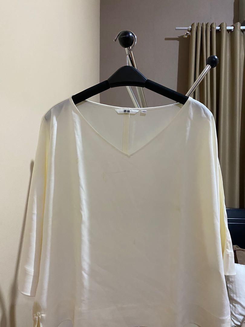 UNIQLO - white blouse