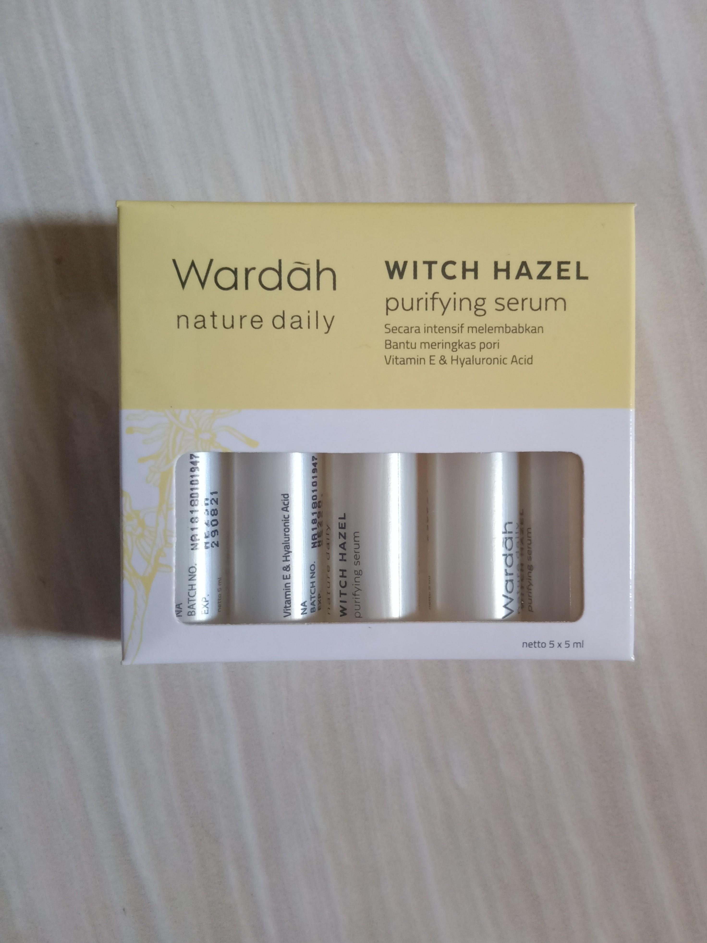Wardah Witch Hazel Serum