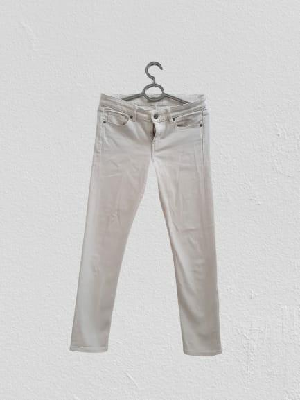 Celana Jeans Putih Uniqlo