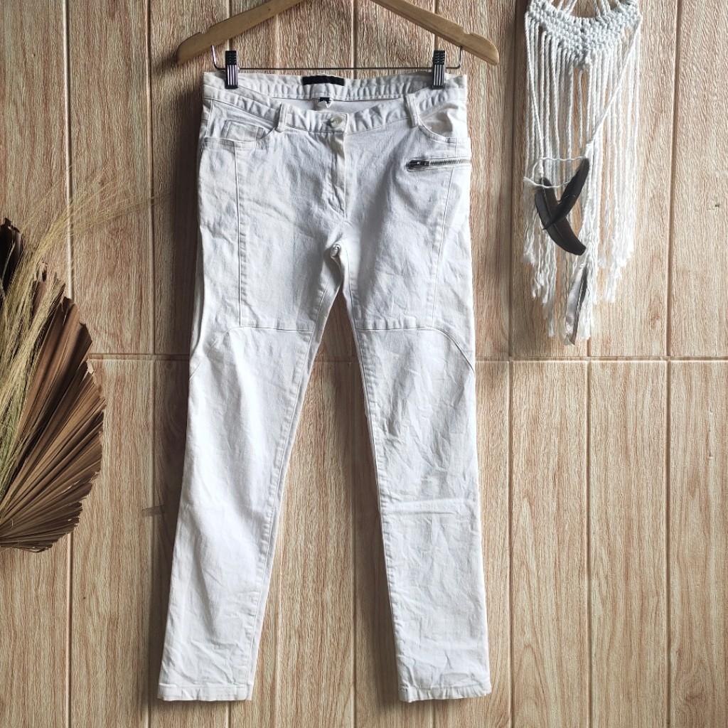 White Jeans SKINNY unisex