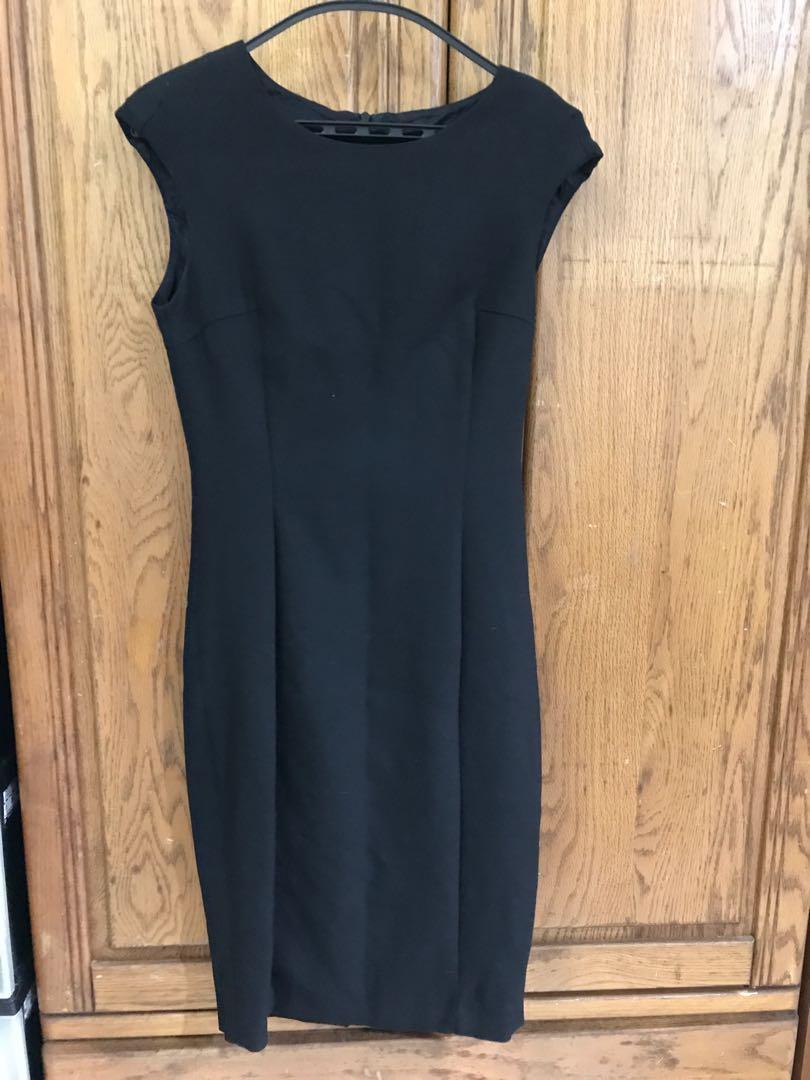ZARA 黑色合身洋裝