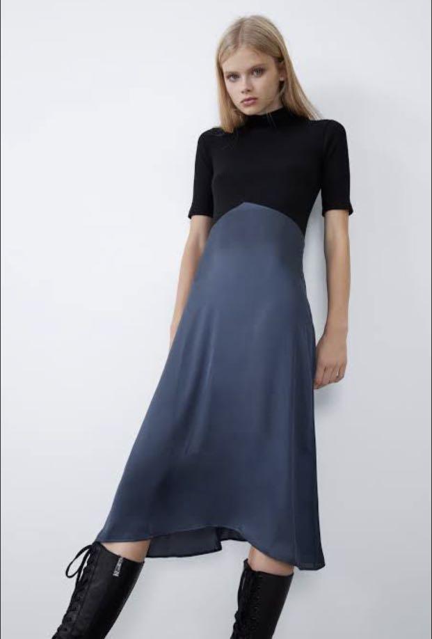 ZARA Combination Dress