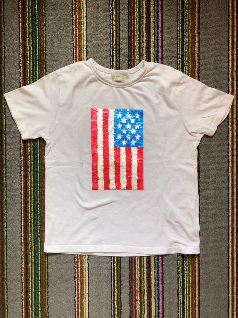 Zara Kids Reversible Sequins Tshirt