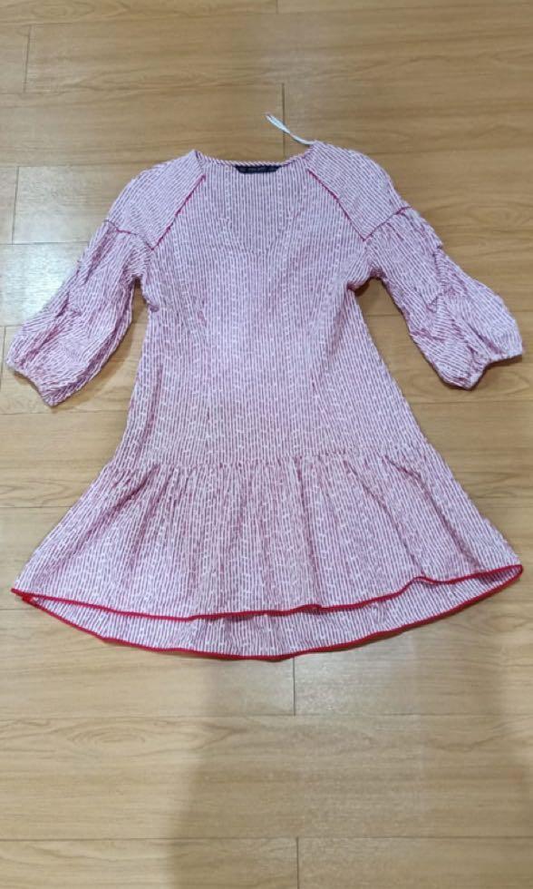 Zara Midi Dress embroiderred