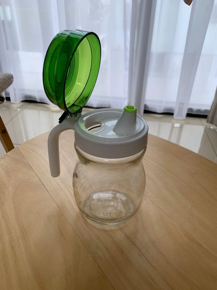 全新鍋寶玻璃定量油壺
