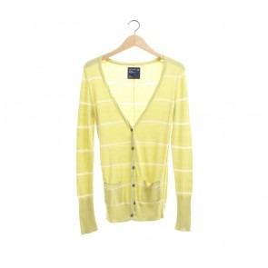 American Eagle Yellow Cardigan Size XS/S