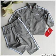 Baby puma track suit