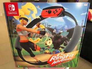 Brand new in stock Ring Fit Adventure for Nintendo Switch