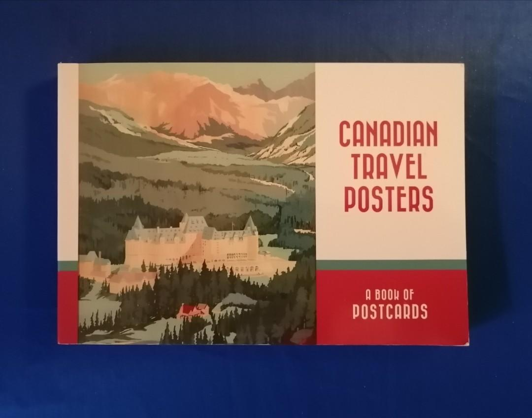 Canadian Travel Poster Postcards