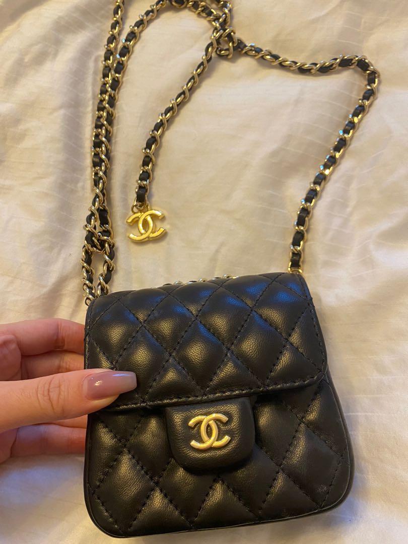 chanel Vintage x-small belt bag