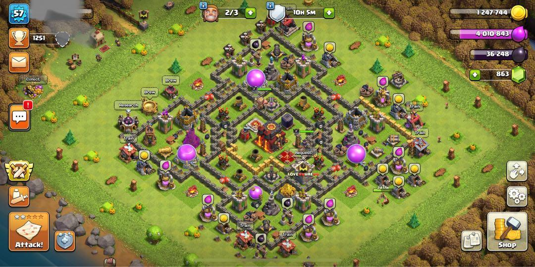 CLASH OF CLAN ACCOUNT PAYMANT PAYPAL