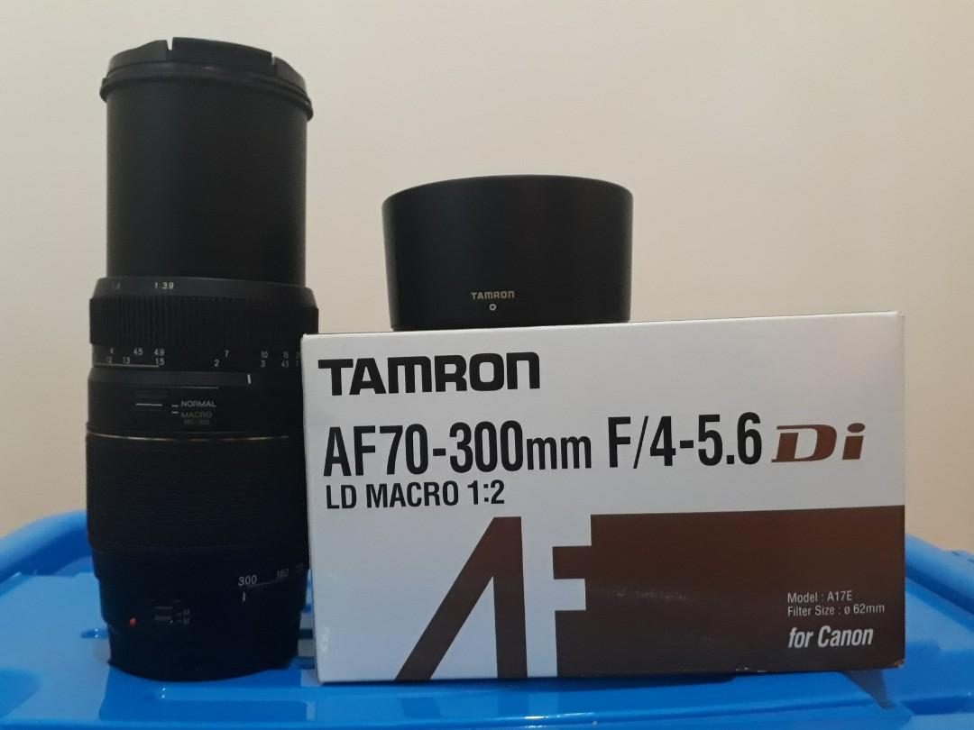 Di Jual Lensa Telle TAMRON for Canon AF 70-300mm  F4-5.6