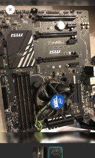 I5-6400+MSI Z170A SLI