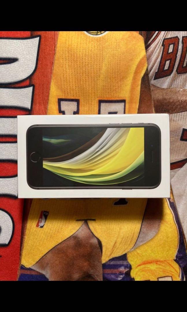 iPhone SE 2nd Generation Unlocked Black 64GB