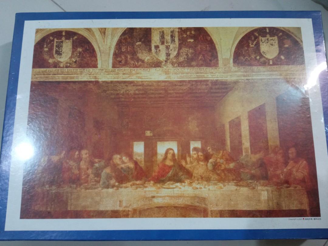 Jigsaw Puzzle Glow in the Dark Last Supper / Perjamuan Terakhir
