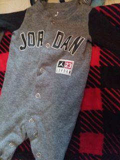 Jordan onesie