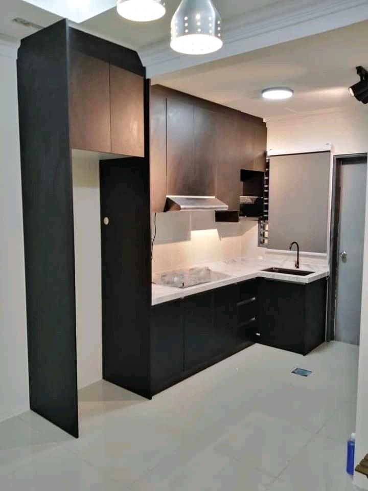 Kabinet Dapur 10ft 3mtr Percuma 3 Aksesori Home Furniture Furniture On Carousell