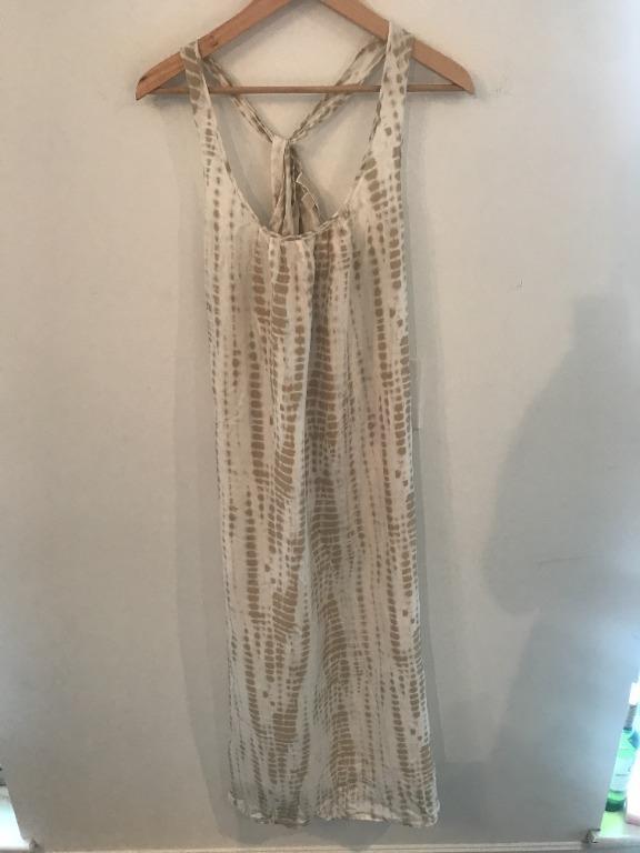 Michael Kors Silk Maxi Dress Size Small