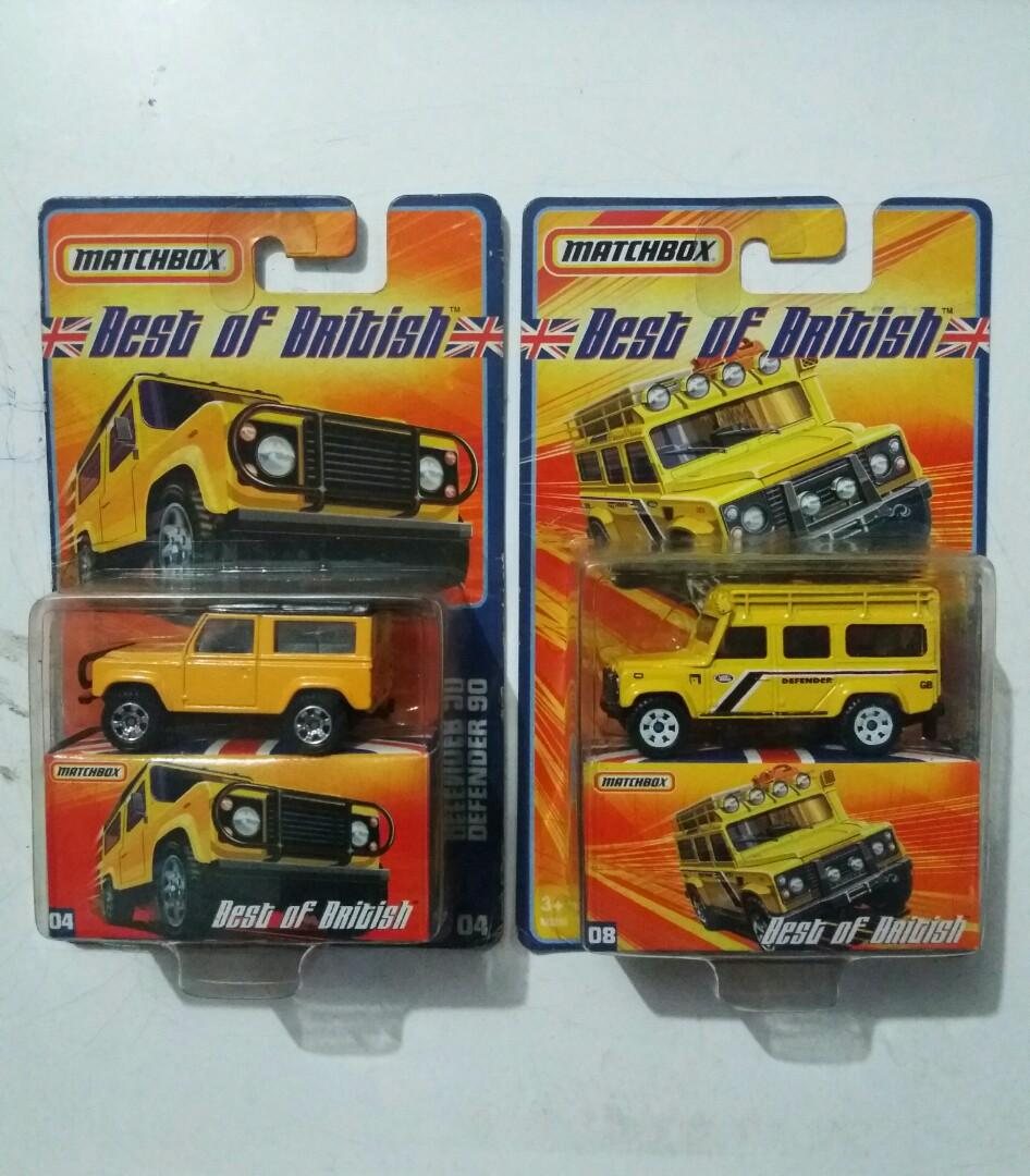 NEGOKEUN Diecast Matchbox Best Of British Land Rover Defender 90 n 110