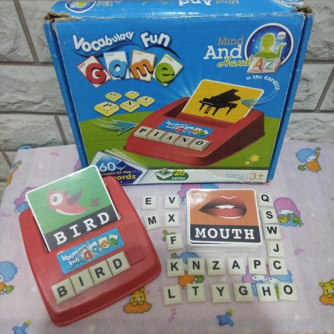 #oktoberovo Vocabulary Fun Game (Permainan Edukasi Anak)