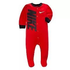 Red nike onesie