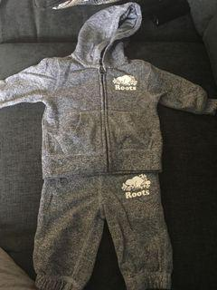 Roots baby suit