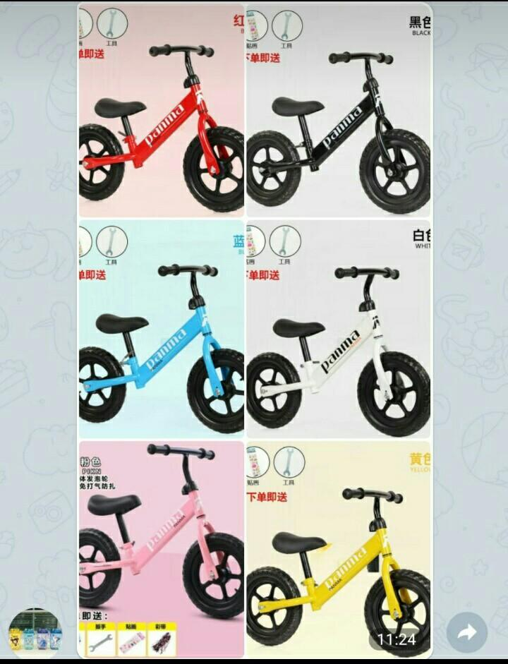 Sepeda balancing anak