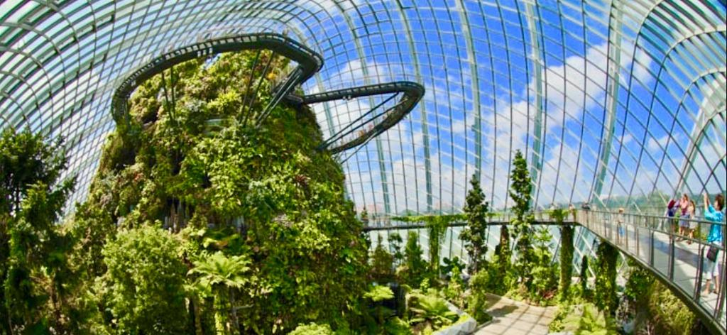 T Garden by the bay cheap ticket discount flower and cloud forest domes ocbc skyway Sky Park Marina