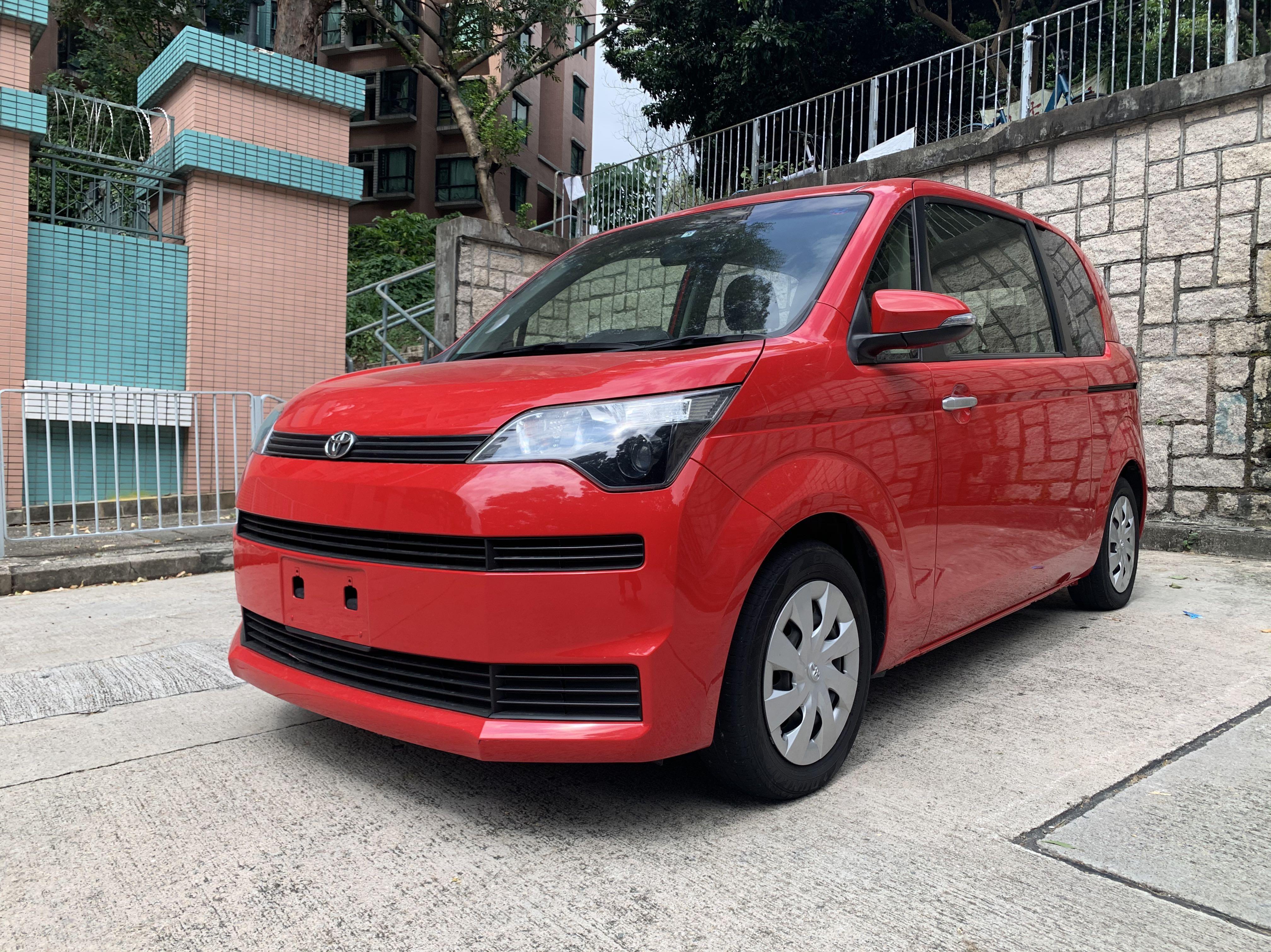 Toyota SPADE Red  Auto